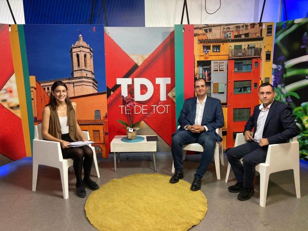 """Infoself al """"Té de Tot"""" de Televisió de Girona"""