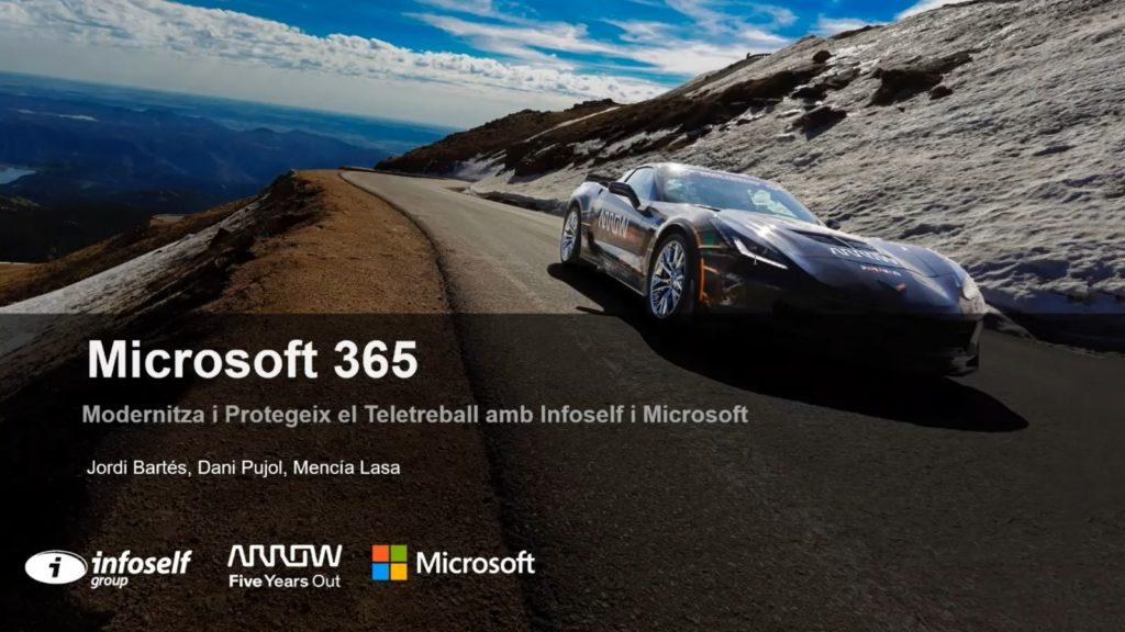 Webinar: Moderniza y protege el teletrabajo con Microsoft 365 e Infoself Group