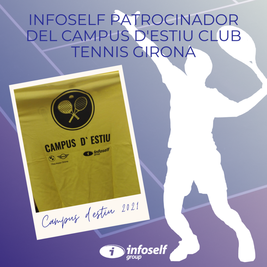 Infoself patrocinador del Campus d'estiu Club Tennis Girona